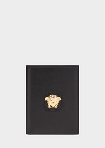 Medusa Head Passport Case - Versace Wallets & Small Leather Goods