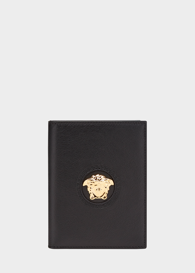 Medusa Head Passport Case - Versace Small Accessories
