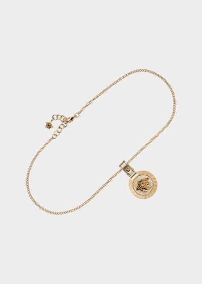Raised Medusa Head pendant necklace Necklaces & Chains - Versace Accessori