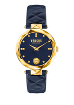 Blue and Gold Covent Garden Watch - Versus Watches