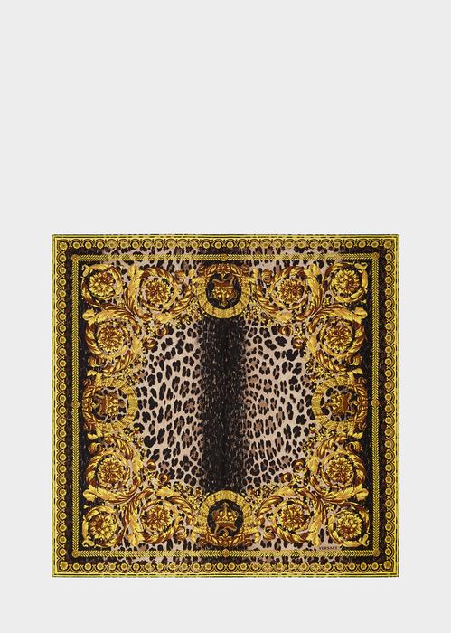 Foulard in seta Wild Baroque I7282 - Versace