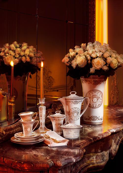 Medusa Gala Vase 18 cm N1409 - Versace Porcellane e Cristalli