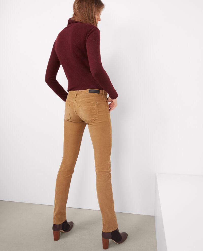 """Jeans rectos de micropana stretch """"Rendez-vous"""" Chamois Brigitte"""