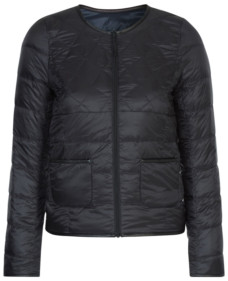 Reversible down jacket Noir/dark navy Avidown