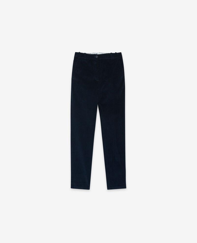 Corduroy trousers Navy Delours