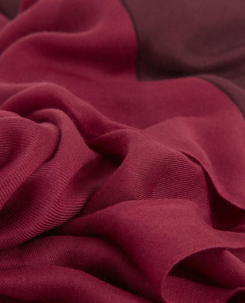 Pañuelo bicolor Amore/cardinal Basalt