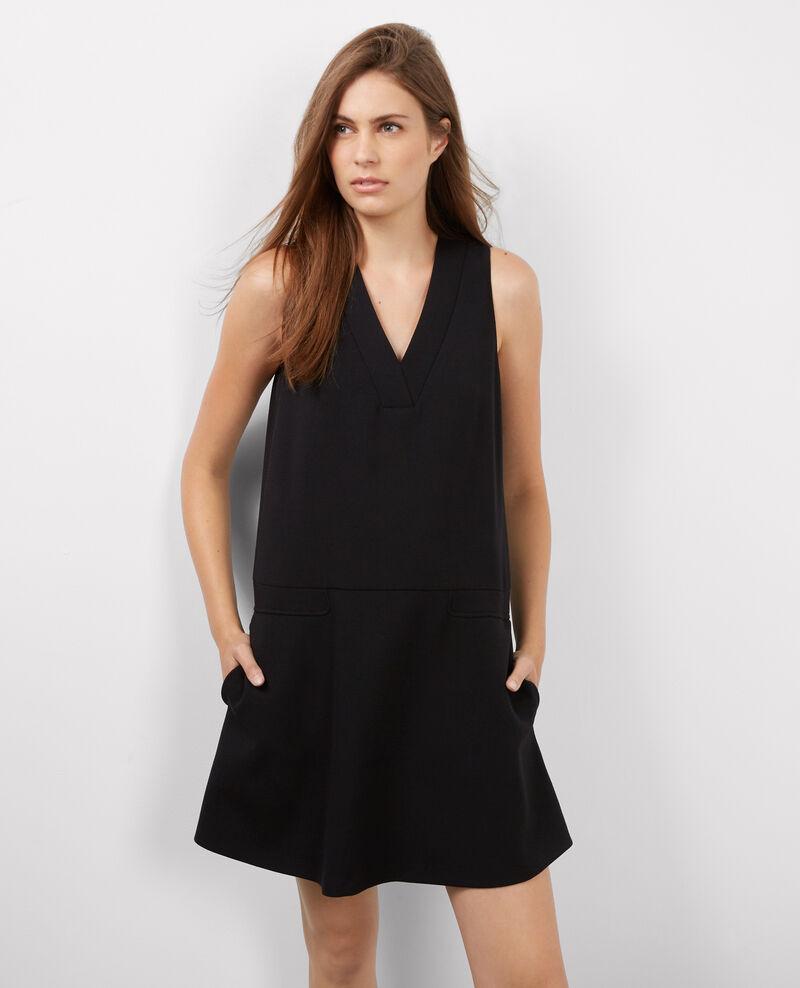Vestido estructurado sin mangas Noir Badaboum