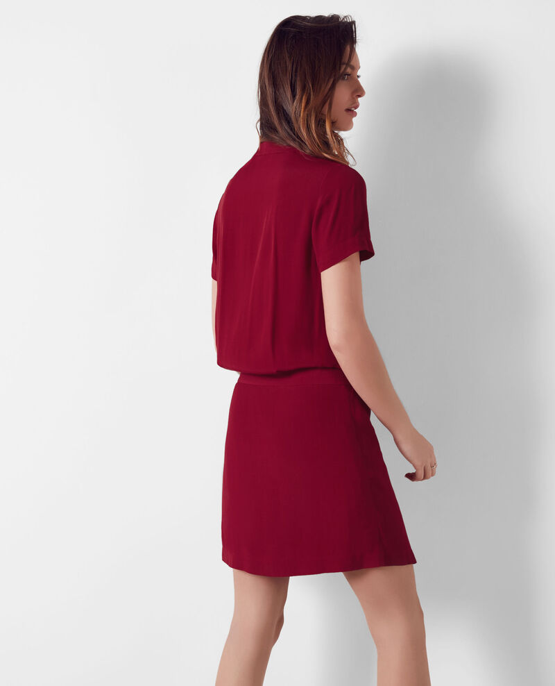 Wraparound dress Crimson Cifeel