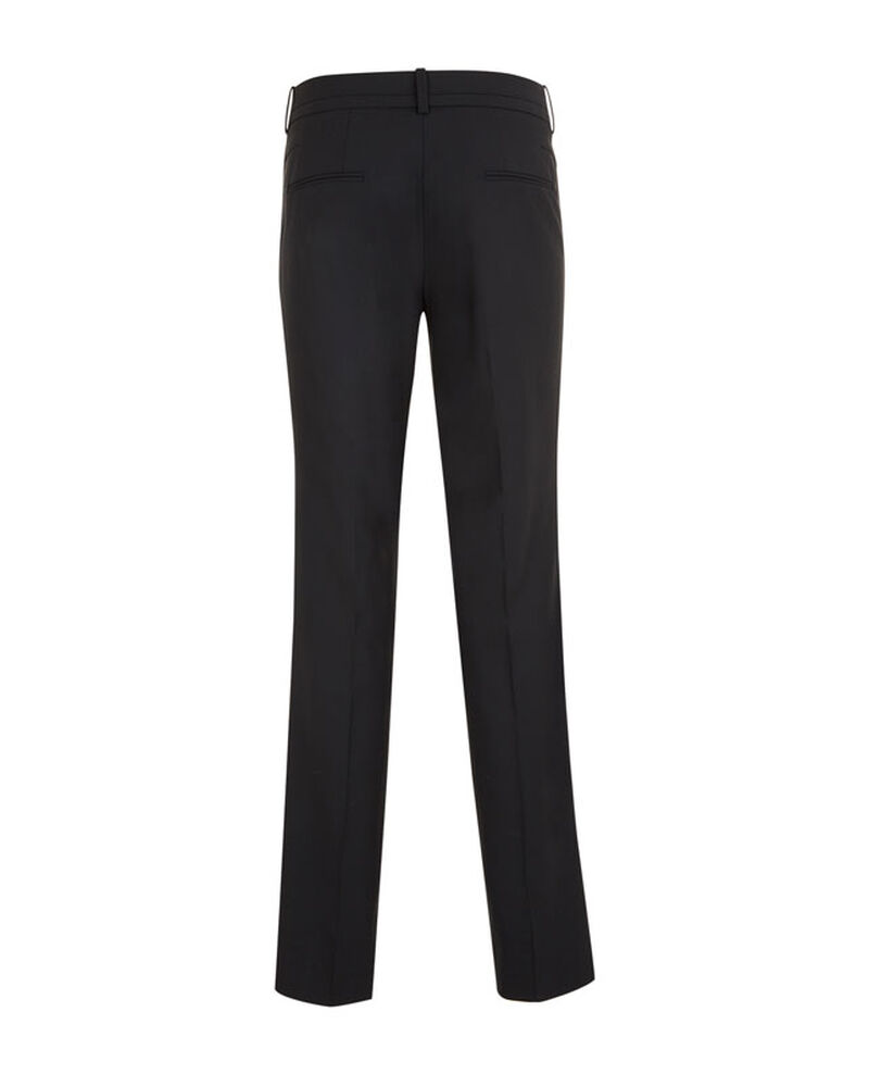 Pantalon tailleur en laine Noir Vrikala