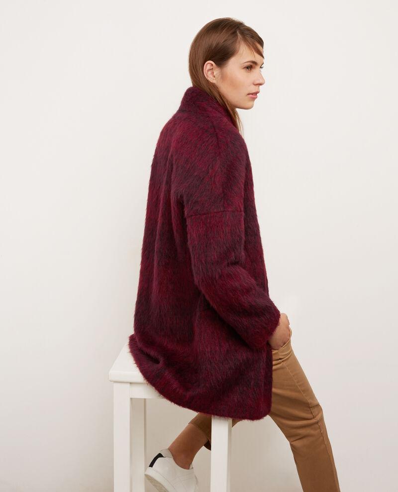 Abrigo corto oversize Maroon Barcarreau