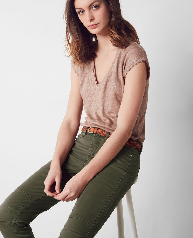 Cropped-Jeans Army Cagio