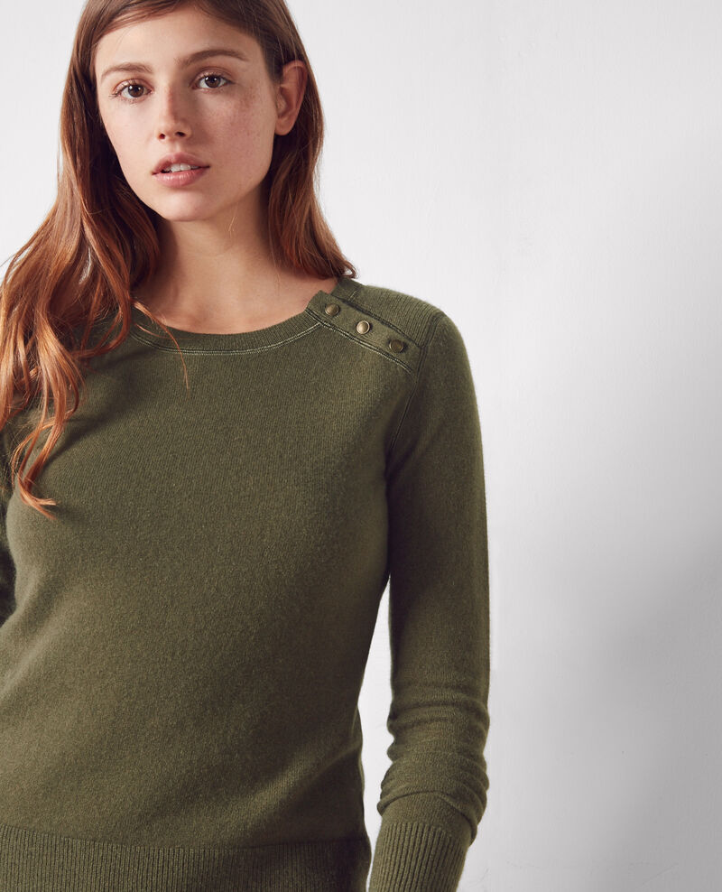 Cashmere jumper Army Chica