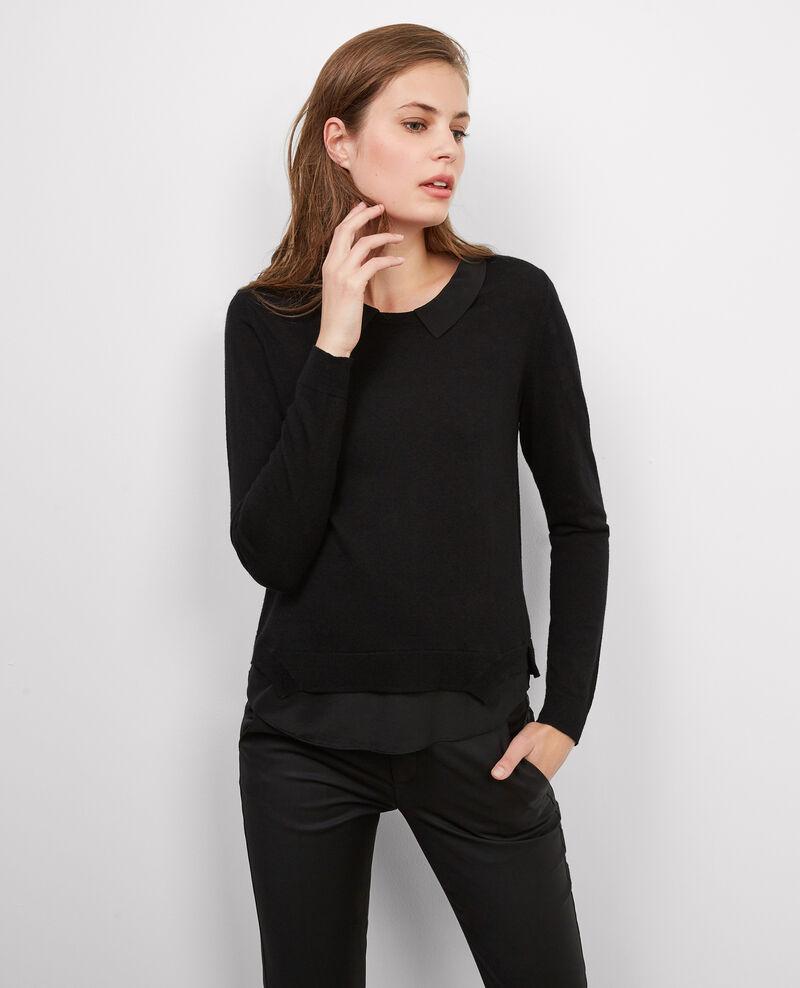 Jersey con seda Noir Babette