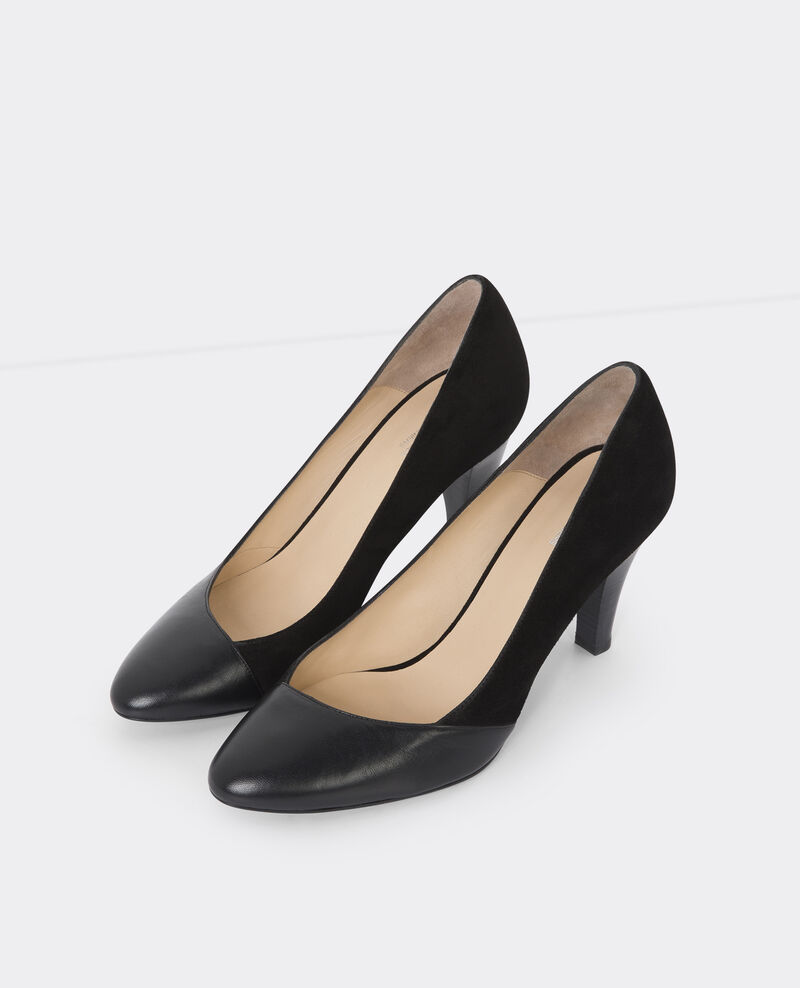 Escarpins en cuir Noir Ballet