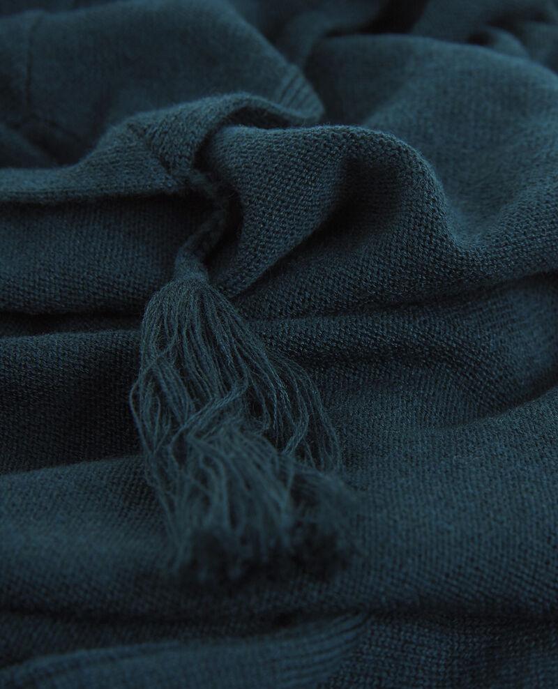 Bufanda triangular con lana Orion Bambina