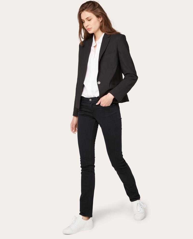 Jeans rectos Noir Vasanova
