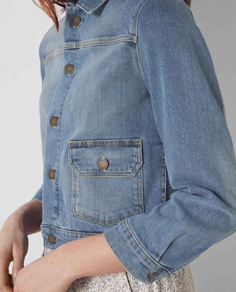 veste en jeans blue denim century comptoir des cotonniers. Black Bedroom Furniture Sets. Home Design Ideas