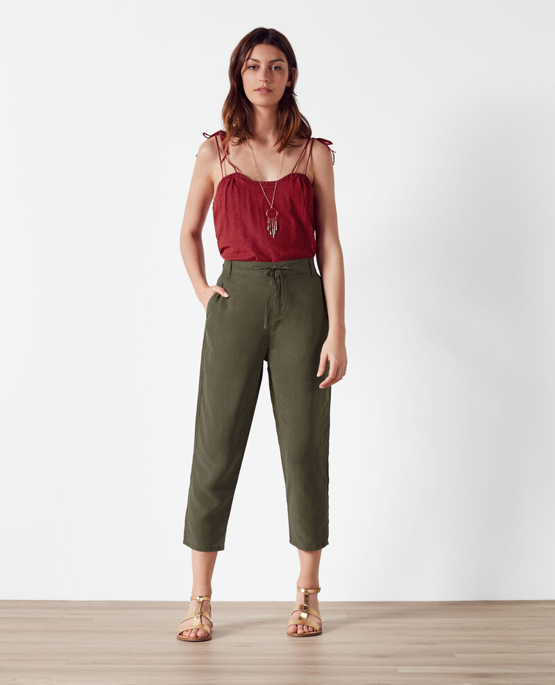 Relaxed fit denim trousers Army Creatif
