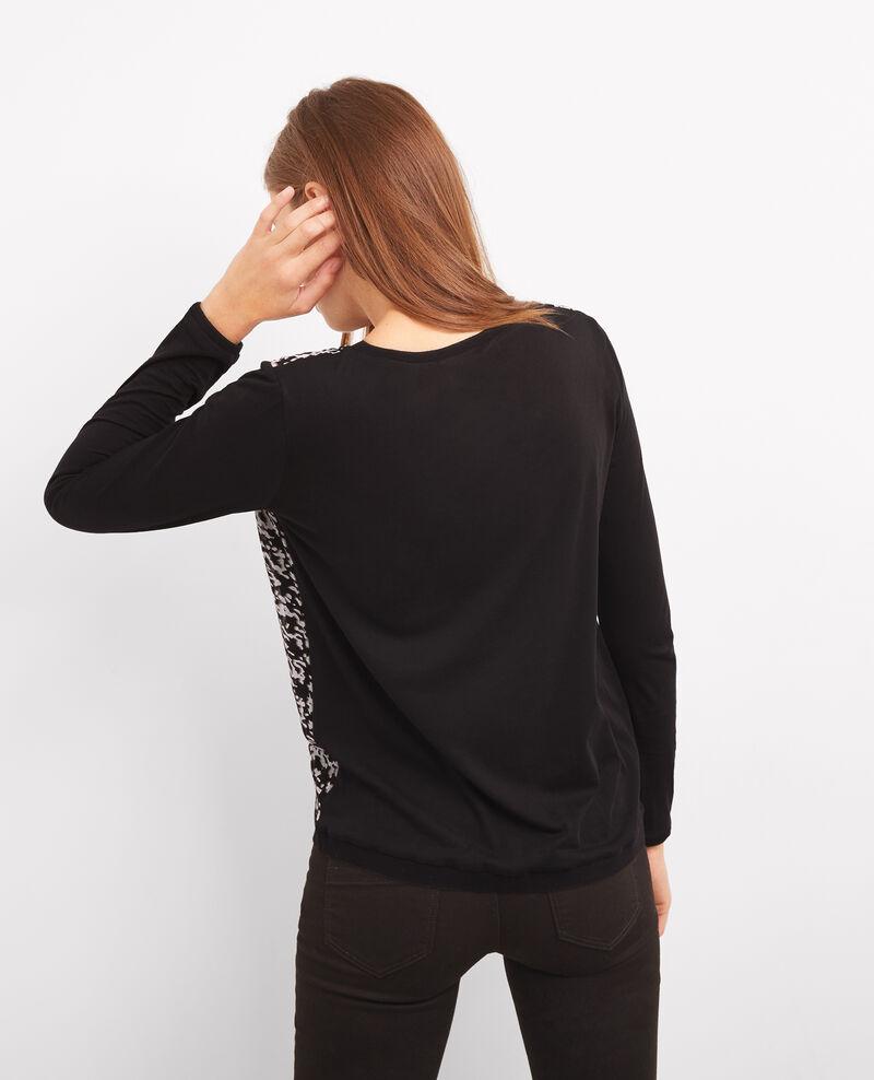 Camiseta estampada con cachemir Panthere Boubou
