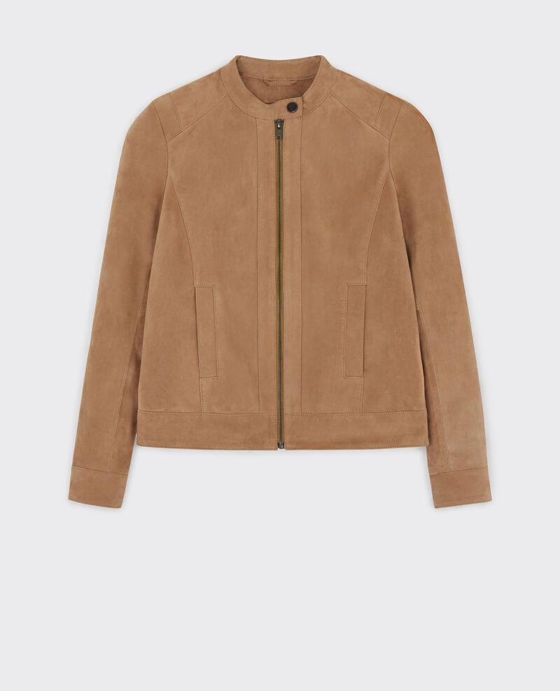 Suede jacket Dune Cactive