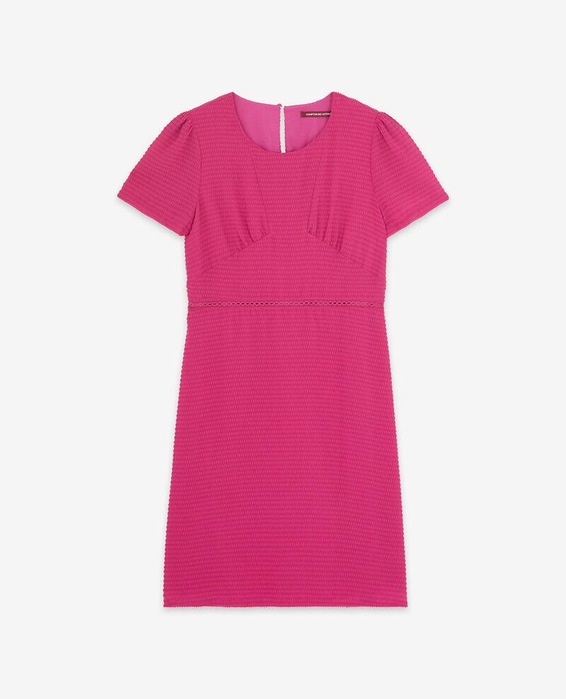 Textured Swiss dot dress Peony Diva