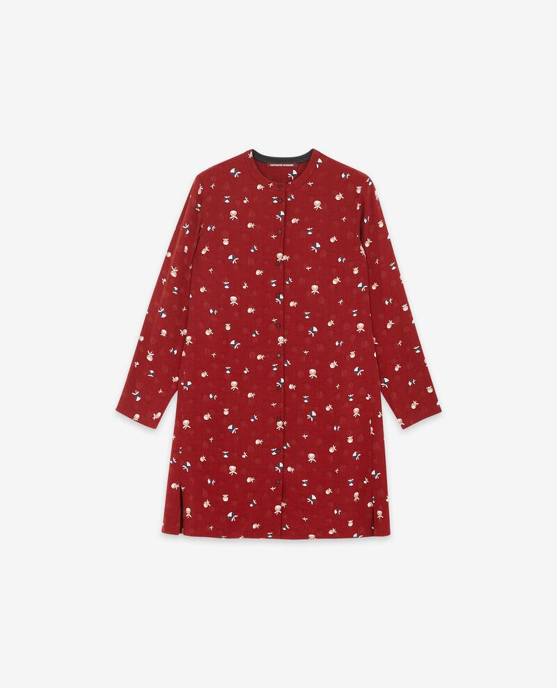 Robe-chemise imprimée Pinecones devil Delgaudio