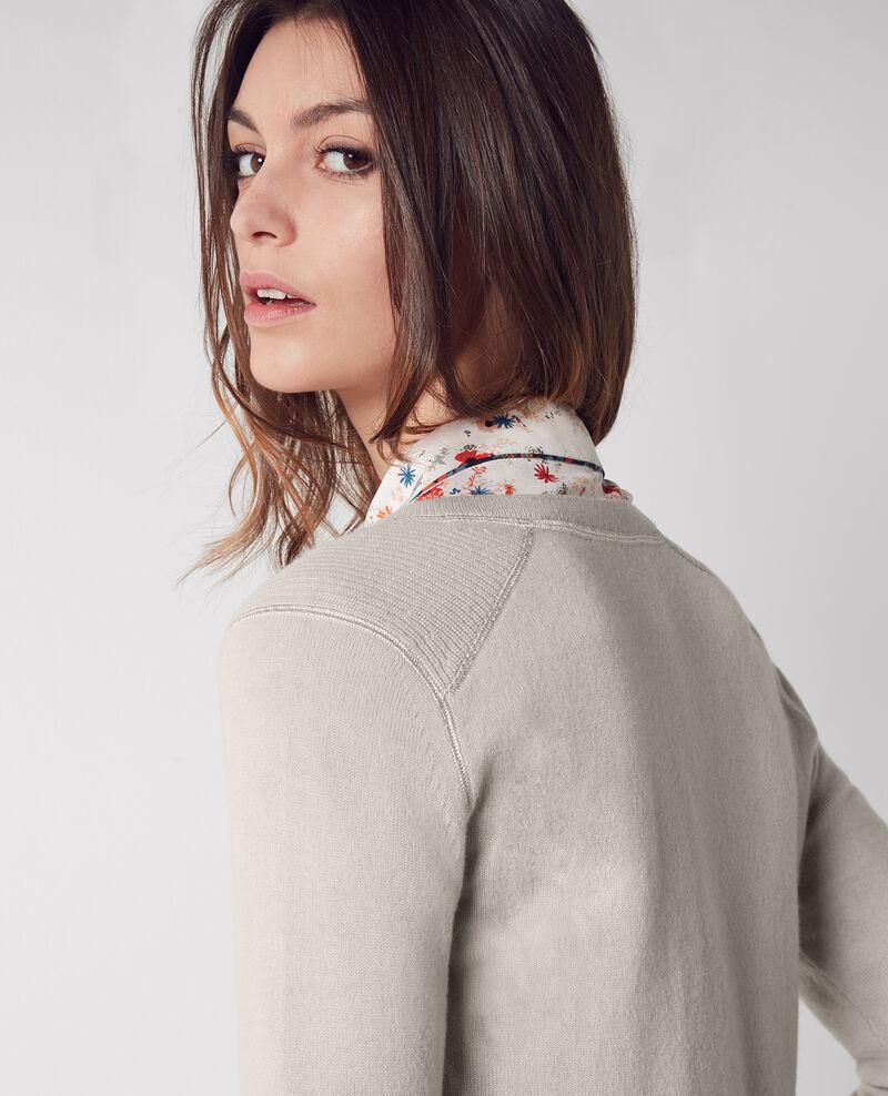 Jersey de cachemir Tourterelle Chica