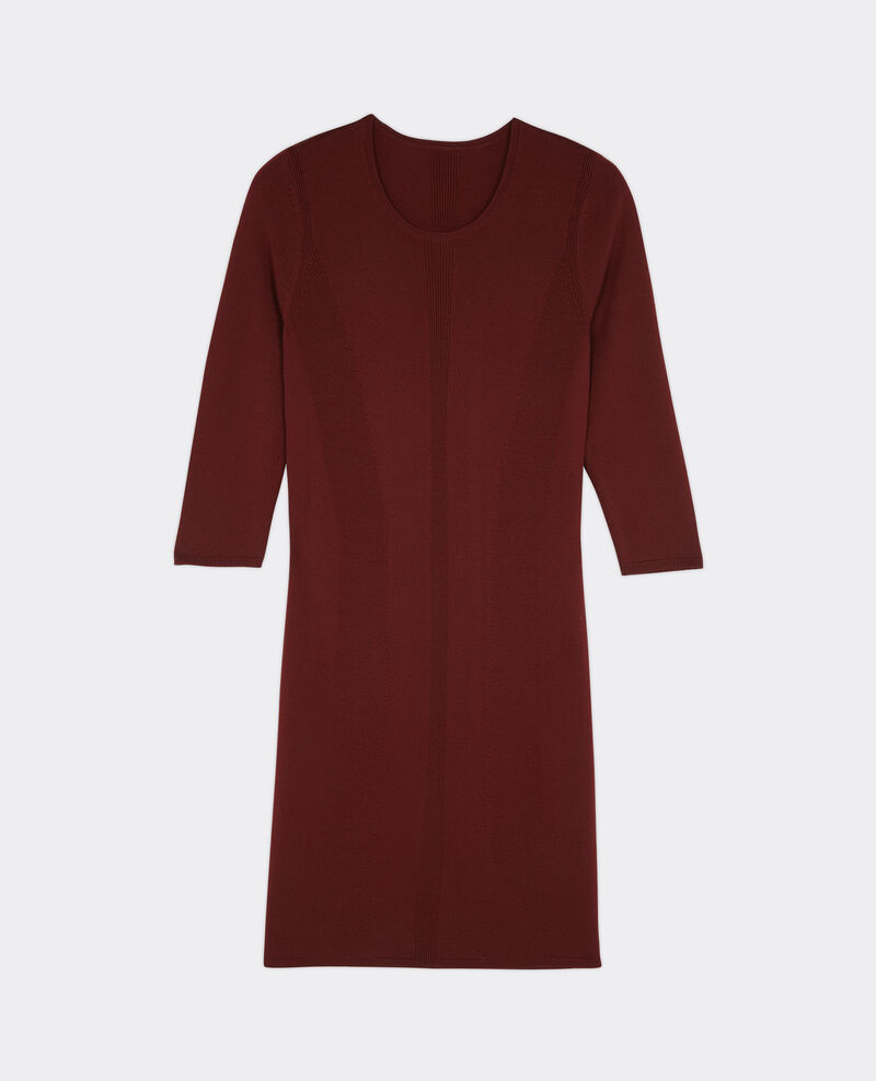 Vestido entallado de lana Velvet Bender