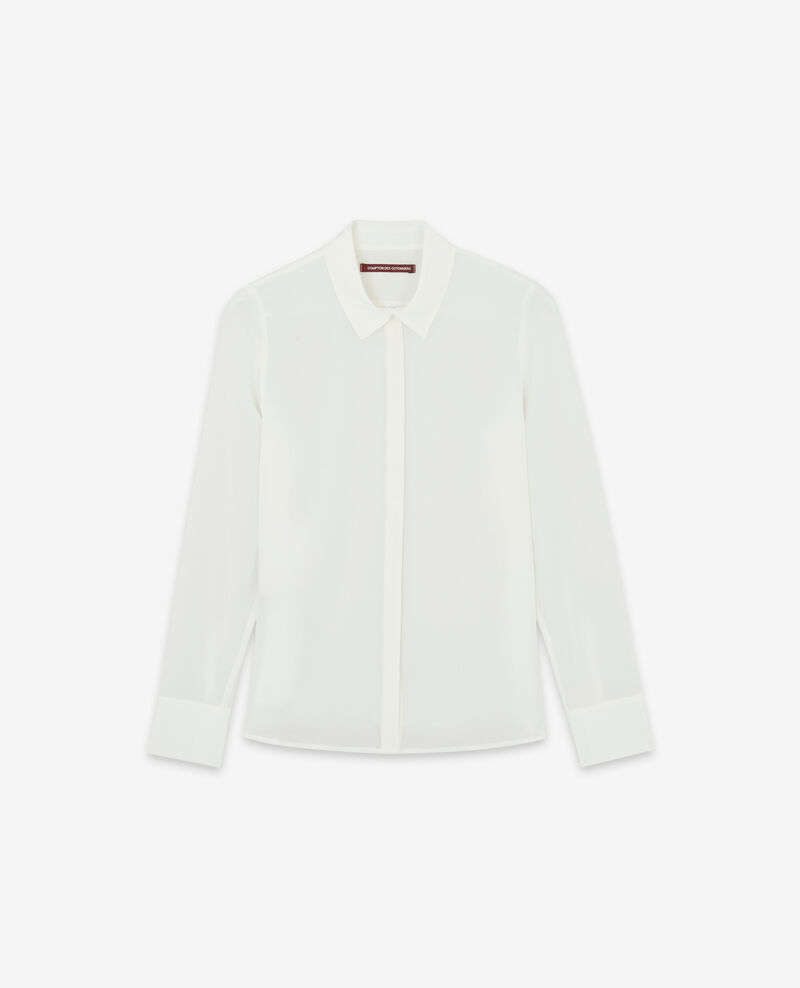 Silk blouse Off white Derta