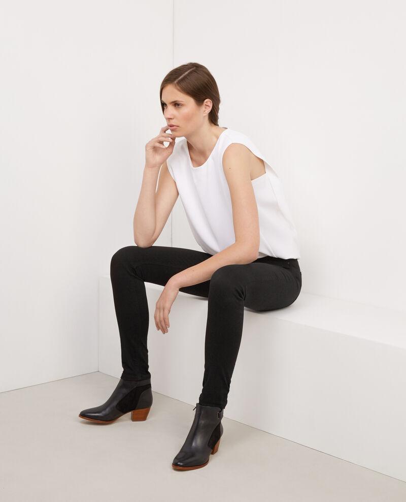 Jeans skinny jolie ch rie noir babou comptoir des for Babou telephone