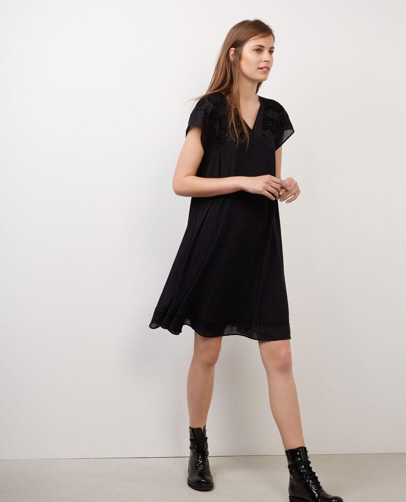 Vestido amplio Noir Biflock