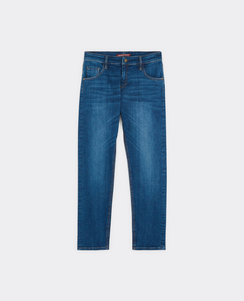 Jeans boyfriend slim Blue stone Baudouin