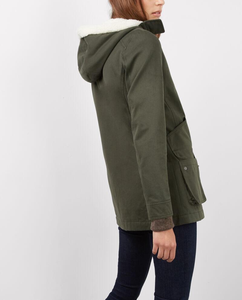 Manteau femme en soldes blouson comptoir des cotonniers - Manteau peau retournee comptoir des cotonniers ...