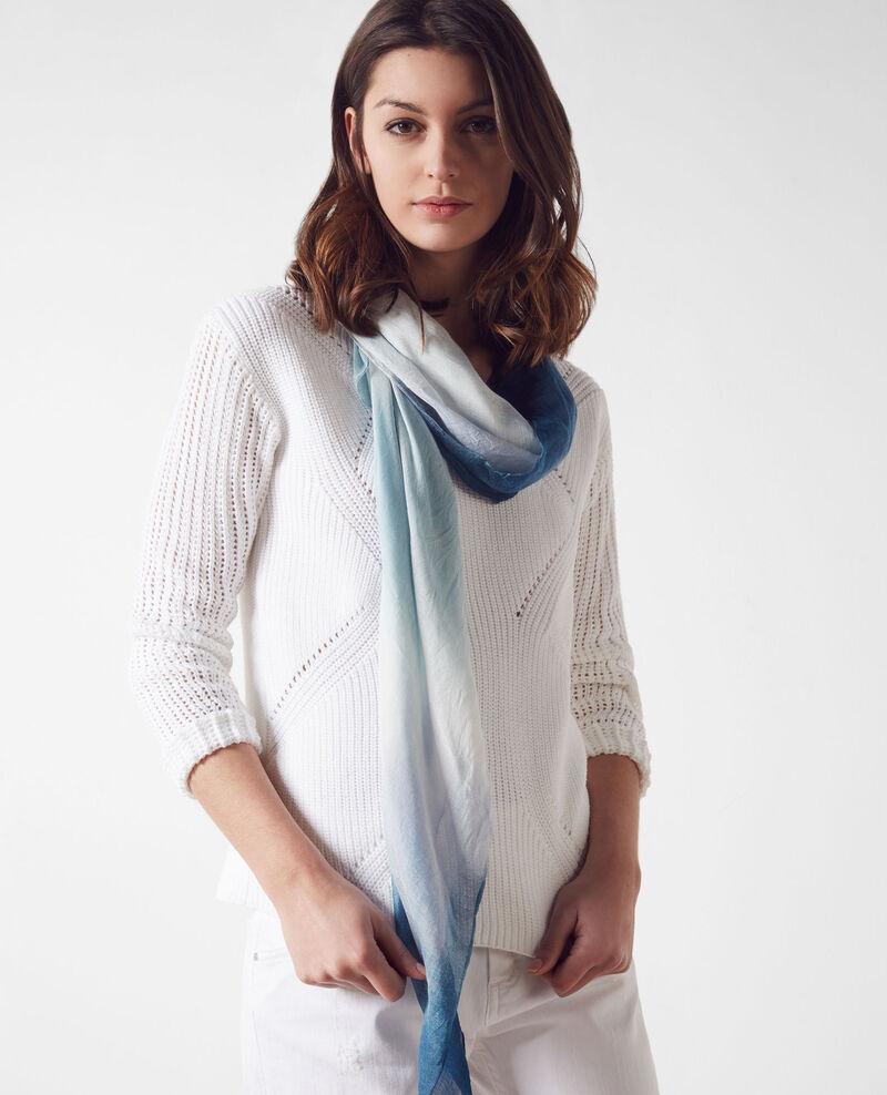 foulard carr tie dye bondi blue cye comptoir des. Black Bedroom Furniture Sets. Home Design Ideas