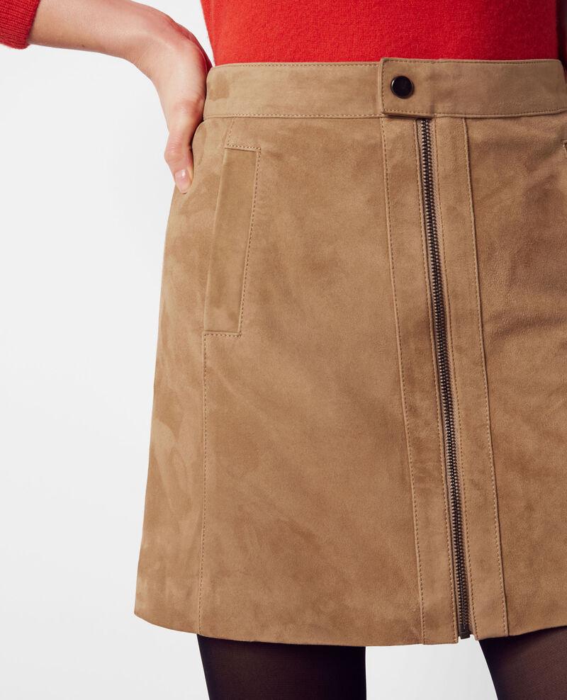 Falda de ante con forma de trapecio Dune Chatelet