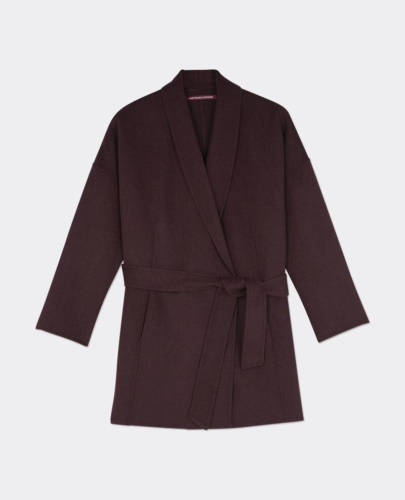 Wool coat Maroon Bonbi