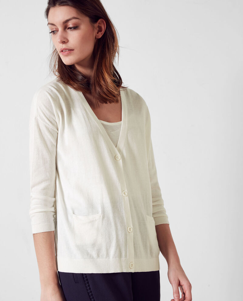 Cardigan Off white 9atation