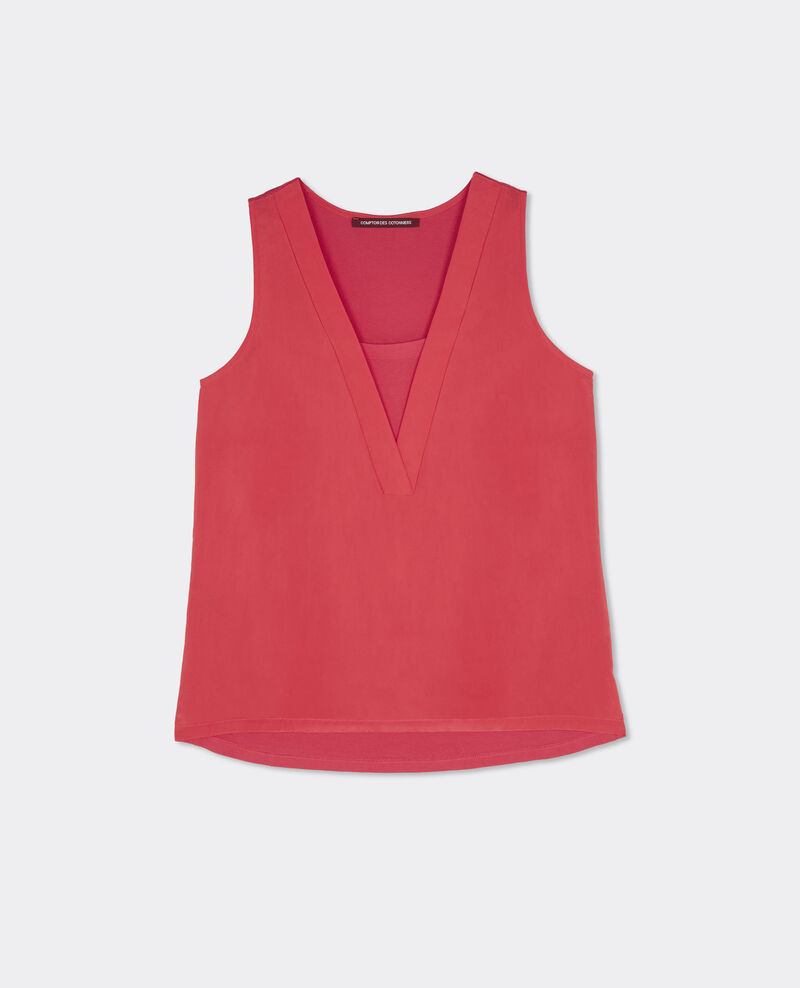 T-shirt bi-matière Cerise Bilibob