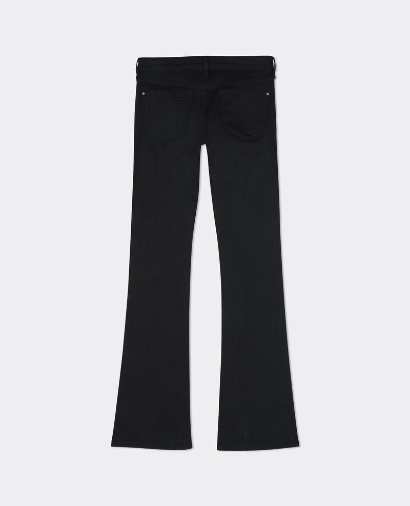 """Jeans acampanados """"Folie-douce"""" Noir Badilli"""