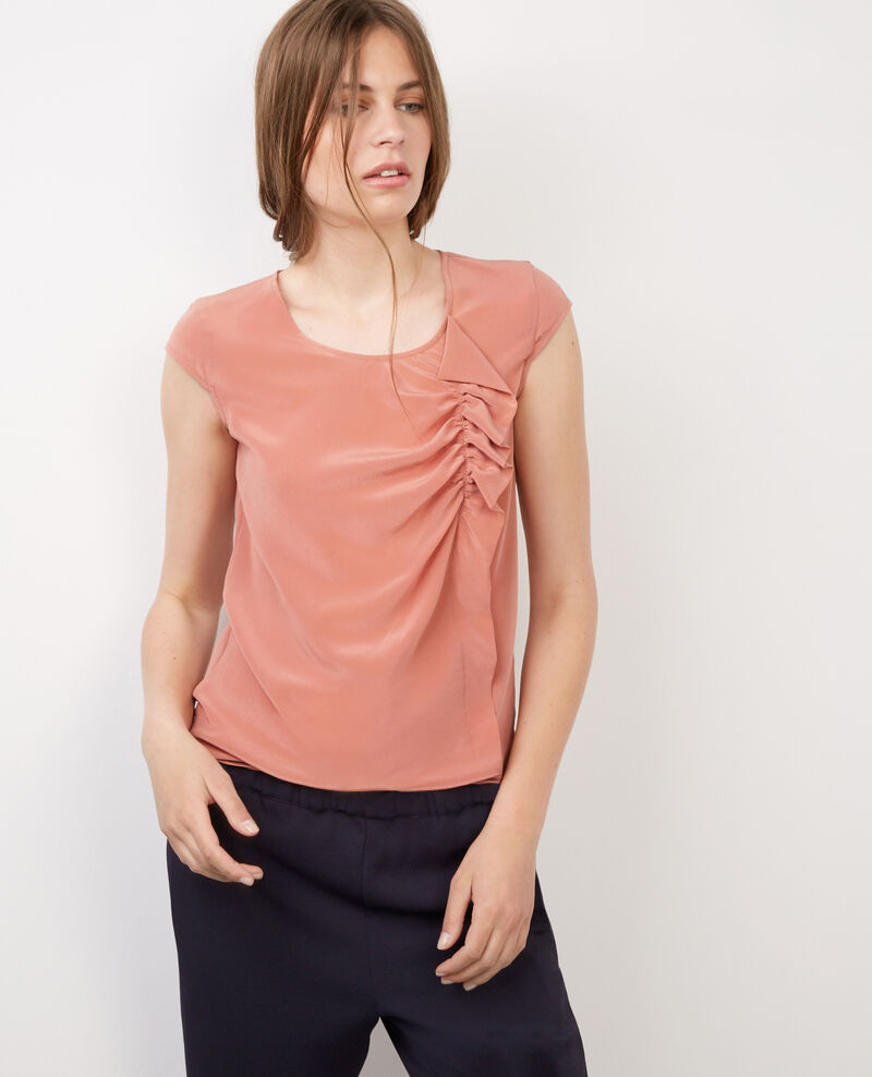 Top de seda Terracotta Bliss