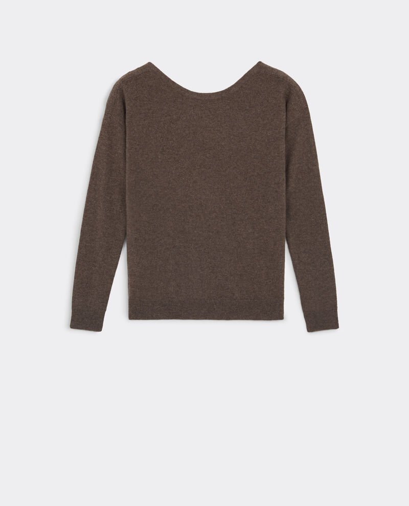 Jersey de seda y cachemir Chestnut Belouga