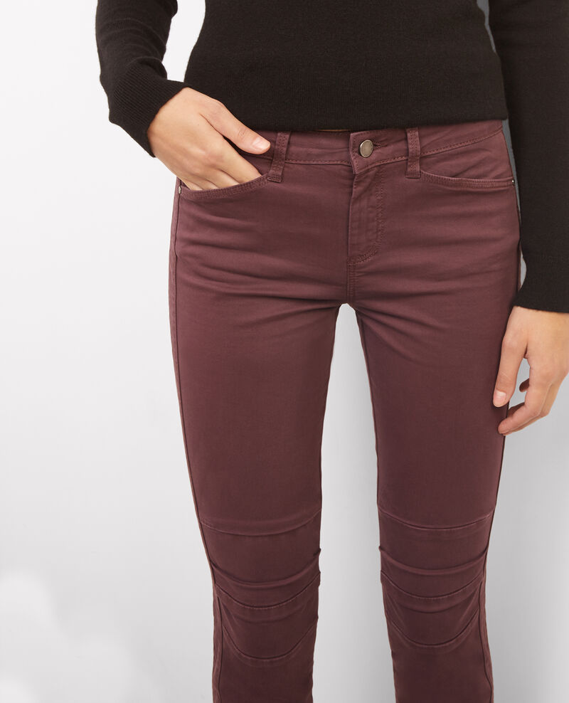 Jeans cropped Maroon Bagio