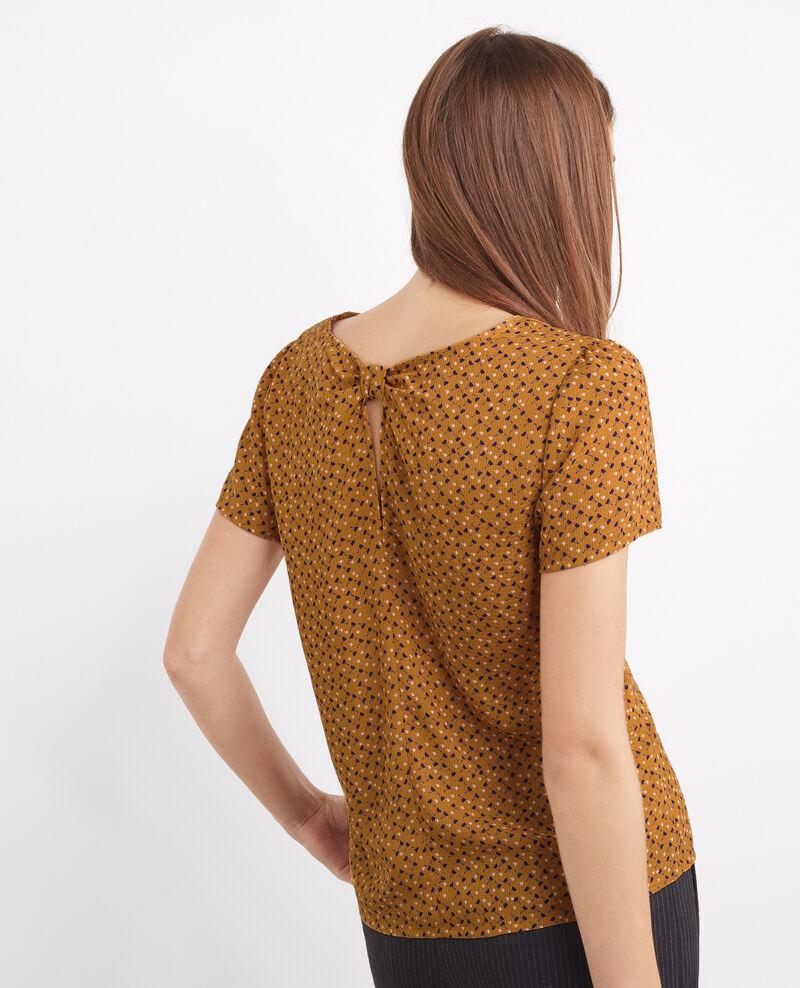 Blusa estampada de manga corta Cosmopolitan Bergamote