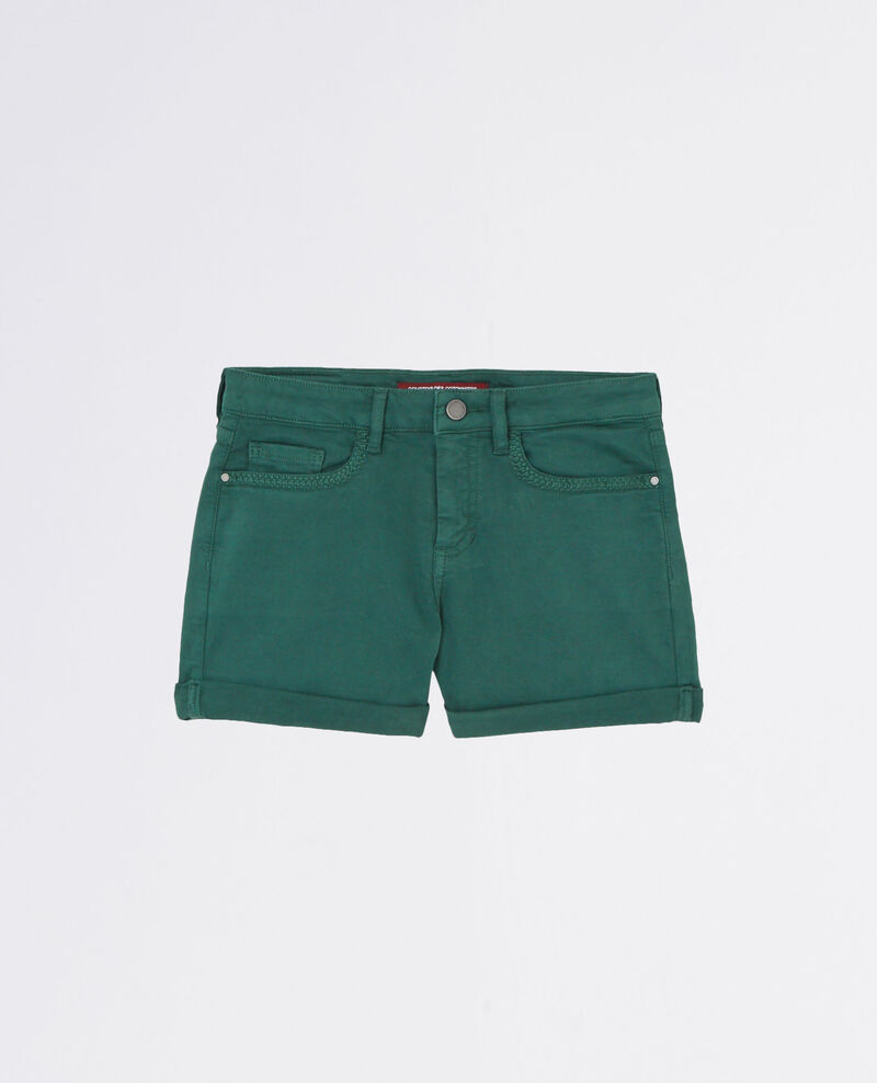 Shorts Jungle green Capricorne
