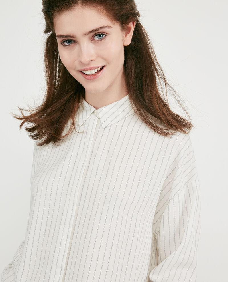 Striped oversize shirt Off white Dagicien