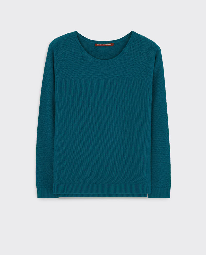 Pull en laine Berlin blue Casimir