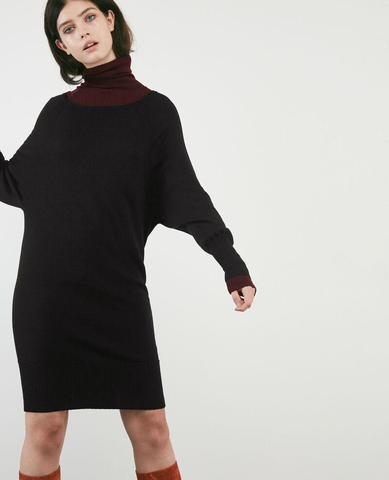 100% merino dress Noir Doison