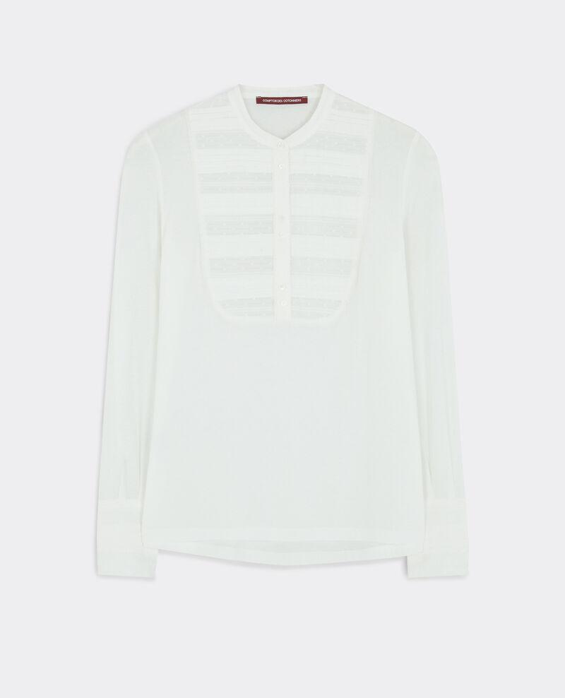 T-Shirt avec plastron Blanc Casino