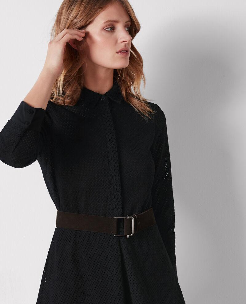 Cinturón de cuero Noir Civil