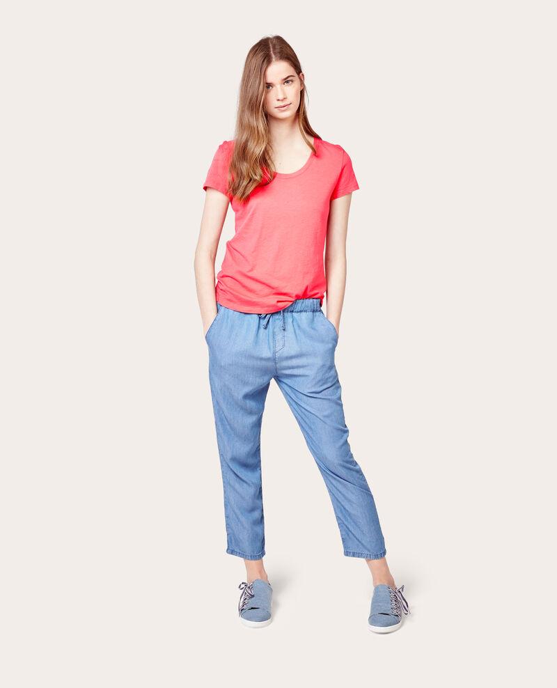 Camiseta 100% Algodón Blush Anita